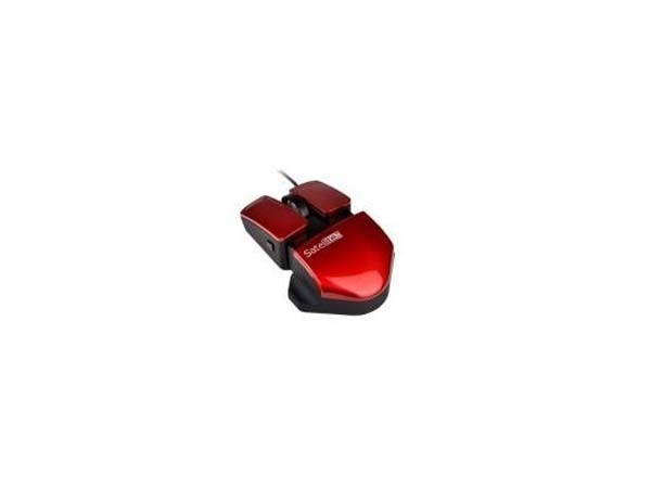 MOUSE OPTICO A-50 ROJO SATELLITE