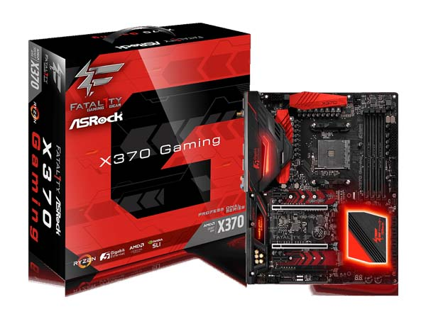 MOTHERBOARD AM4 ASROCK FATAL1TY X370 PROFESIONAL GAMING