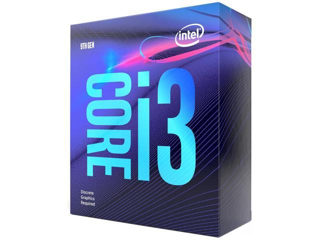 PRO INTEL CORE 9th GEN i3-9100F 3.60GHz FCLGA1151