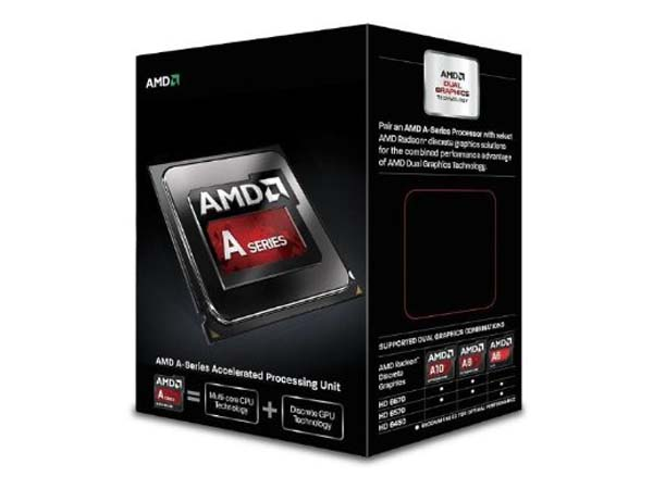PRO AMD A6-6400K (4.1GHZ) HD8470D FM2+ 65W BLACK EDITION