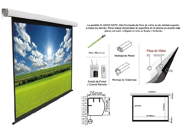 PANTALLA DE PROYECCION INTELAID 150