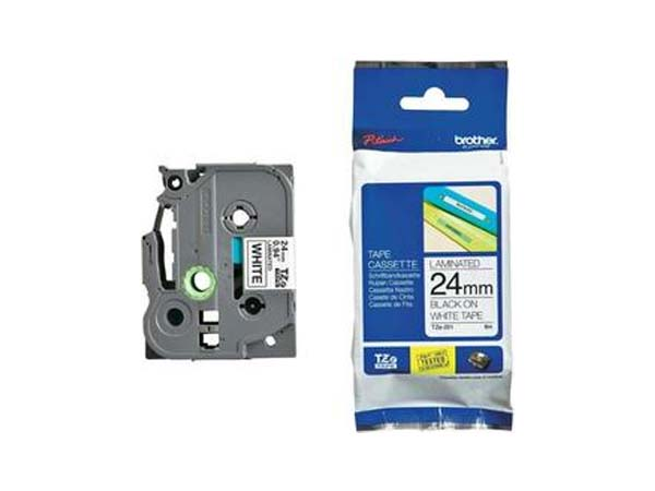 CINTA HSE251EU BROTHER TERMOCONTRAIBLE N/B 24MM