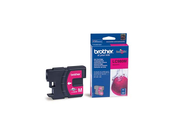 CAR. TINTA BROTHER LC 980 MAGENTA