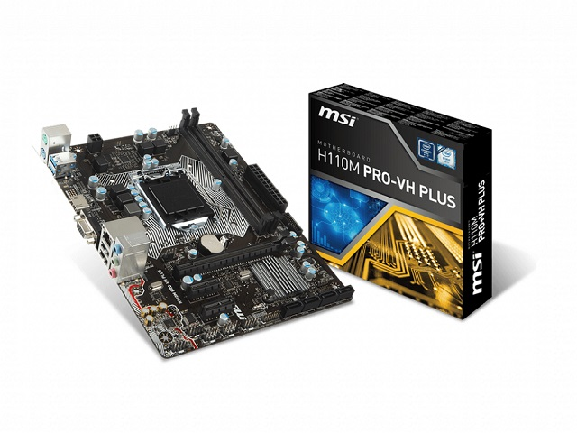 MOTHERBOARD MSI 1151 7th H110M PRO-VH PLUS