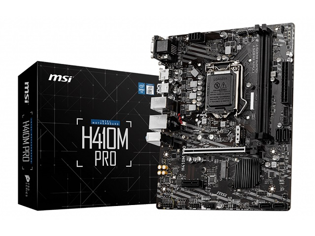 MOTHERBOARD MSI 1200 10th GEN H410M PRO
