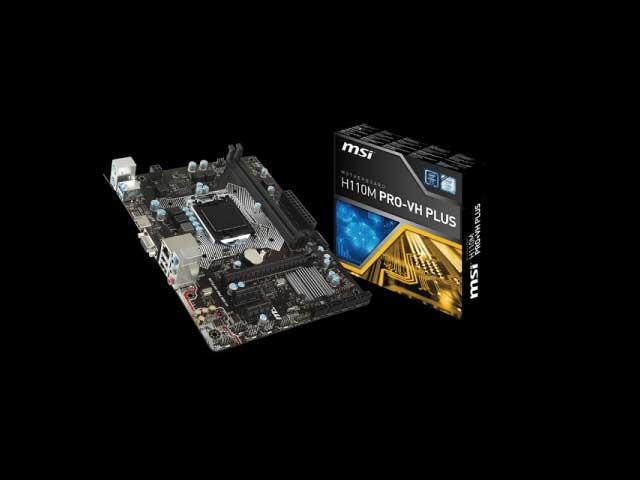 MOTHERBOARD MSI 1151 7th H110M PRO-VH PLUS VGA, HDMI