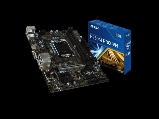MOTHERBOARD MSI 1151 7th B250 PRO-VH VGA, HDMI