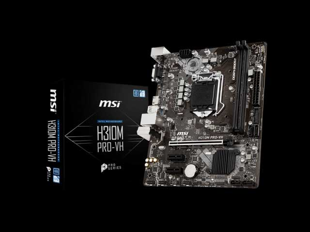 MOTHERBOARD MSI 1151 8th GEN H310M PRO-VH