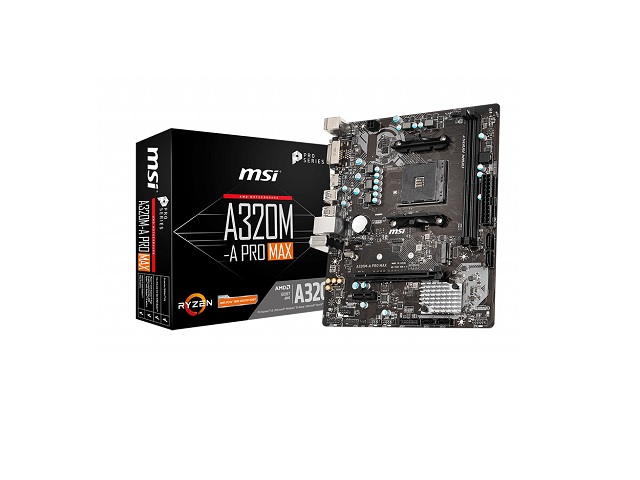 MOTHERBOARD MSI AM4 A320M-A PRO MAX