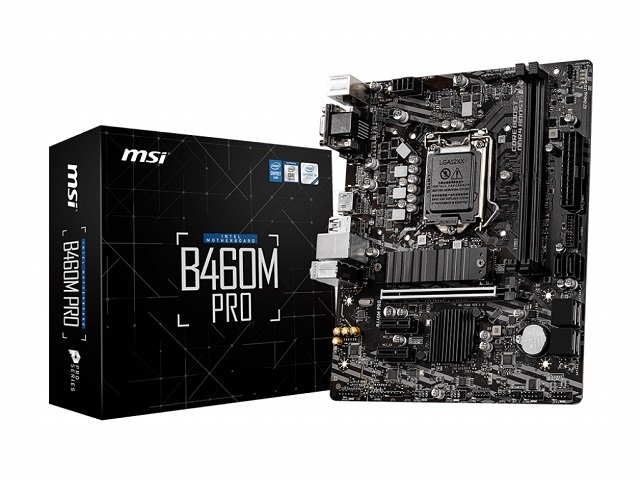 MOTHERBOARD MSI 1200 10th GEN B460M PRO