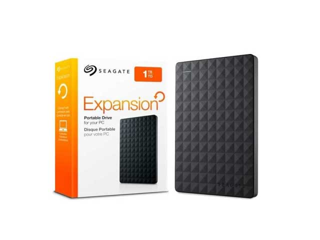 DISCO RIGIDO SEAGATE 1TB EXTERNO EXPANSION USB 3.0