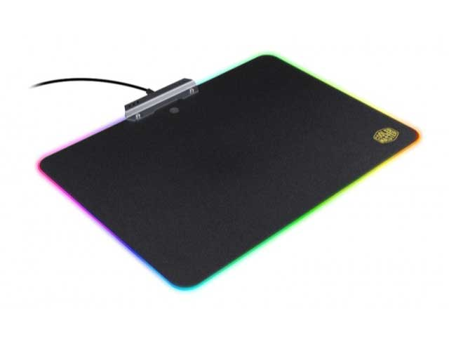 MOUSEPAD COOLERMASTER RGB HARD GAMING